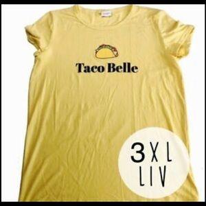 LuLaRoe 'Taco Belle' Tee